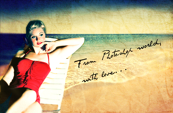 Beach Vintage Wallpaper a Fun Vintage Shot